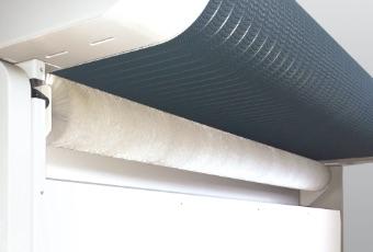 ベルトクリーニング機構標準装備