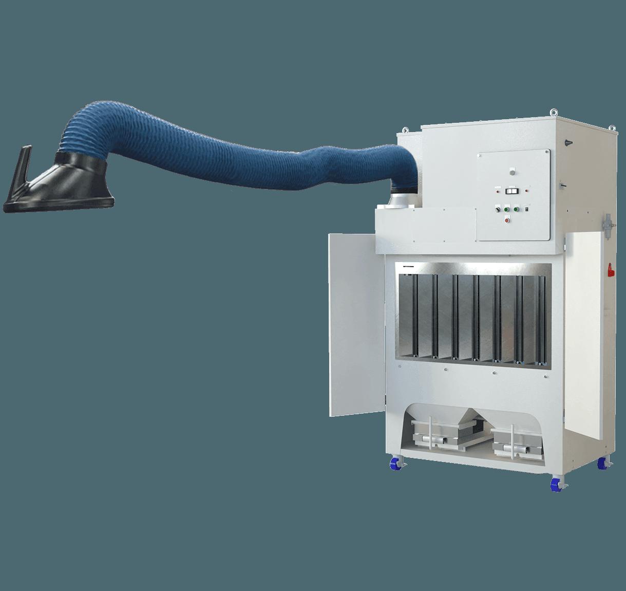 溶接ヒューム対応<br>グラインダー集塵機