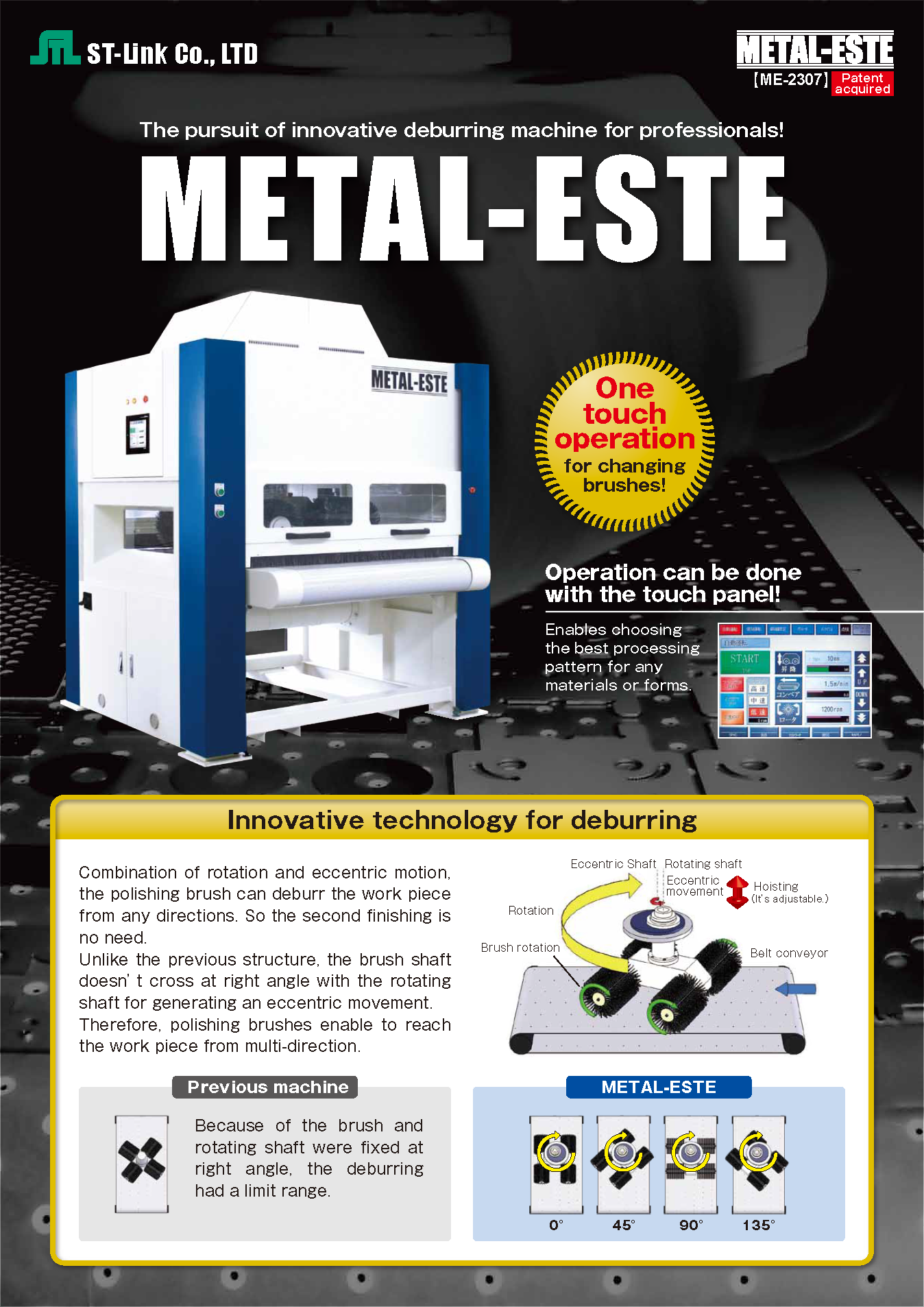 Deburring Machine | METAL-ESTE Catalogue(PDF)
