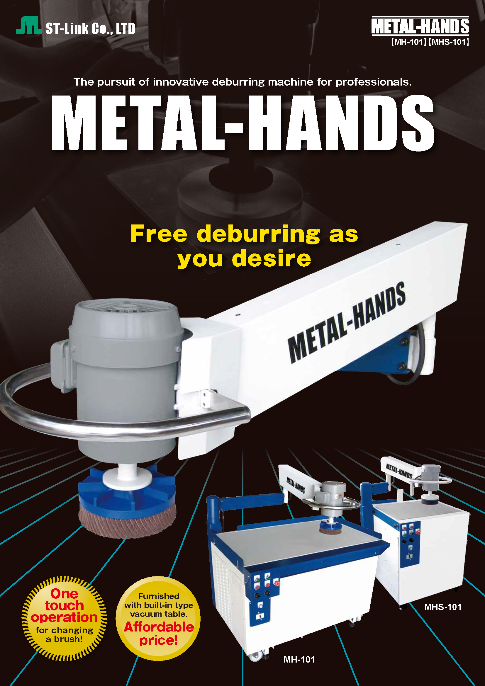 Deburring Machine | METAL-HANDS Catalogue(PDF)
