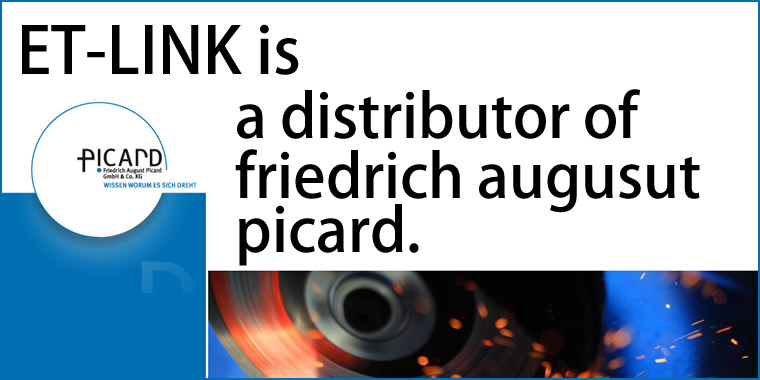 ET-Link is a distributor of friedrich augusut picard.