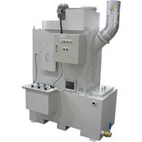 Changing dust gathering machine